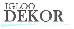 Igloo Dekor – Julbelysning för offentlig miljö  & Handsprit dispenser