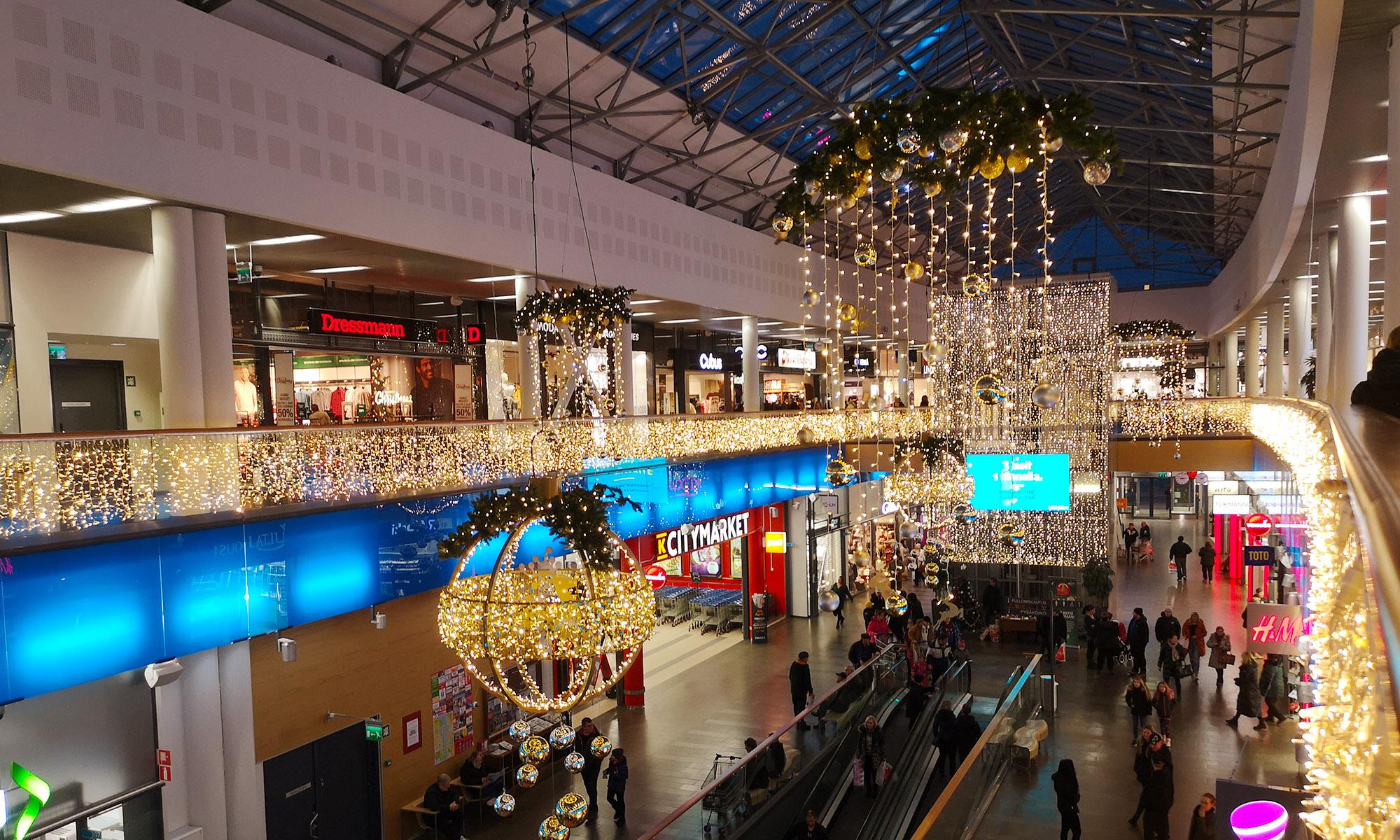 Igloo Dekor - Julbelysning för offentlig miljö  & Handsprit dispenser